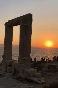 Naxos, Sunset - Island Hopping in the Cyclades – The Perfect Greek Island Itinerary