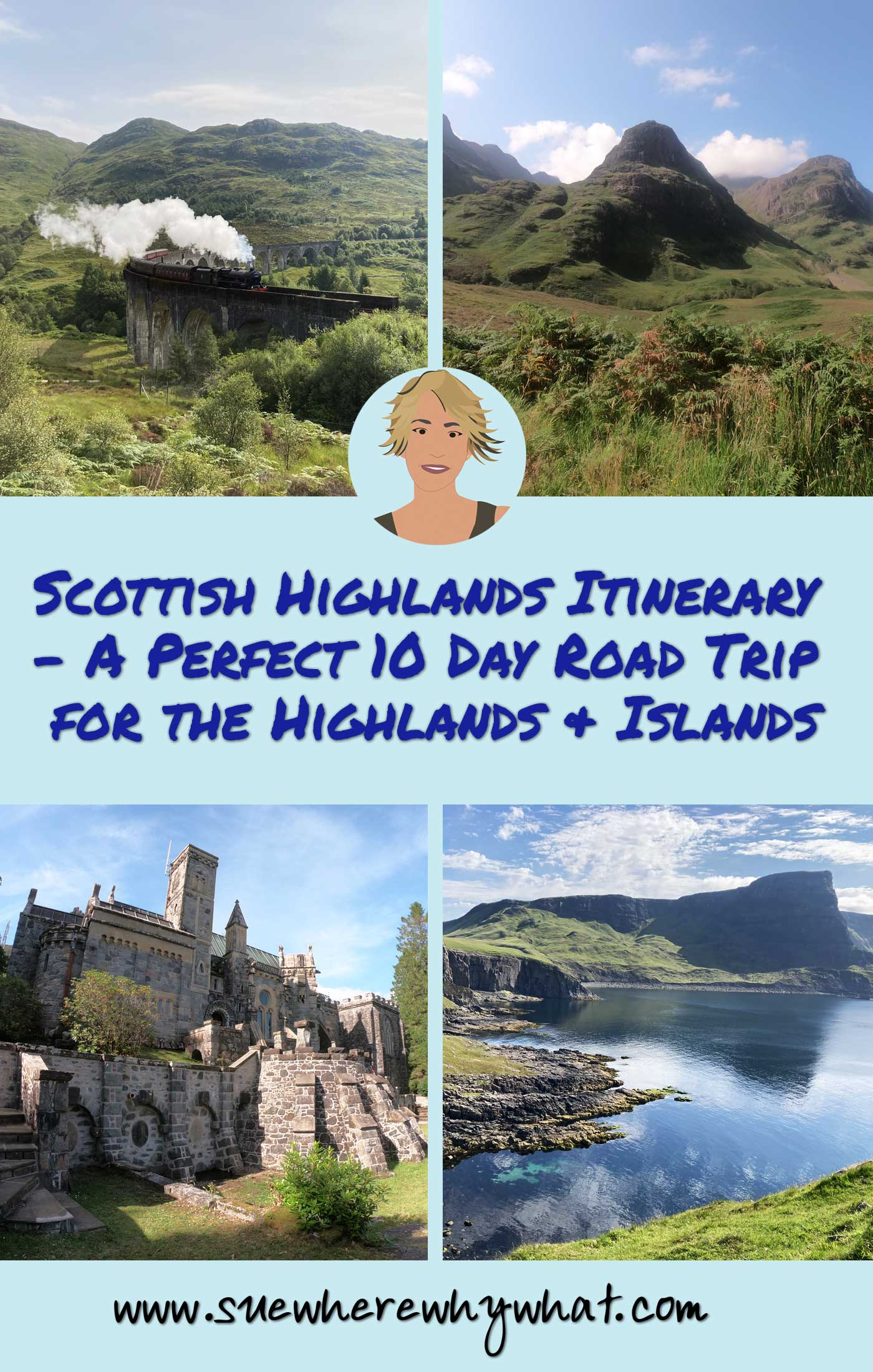 Scottish Highlands Itinerary – A Perfect 10 Day Road Trip for the Highlands & Islands