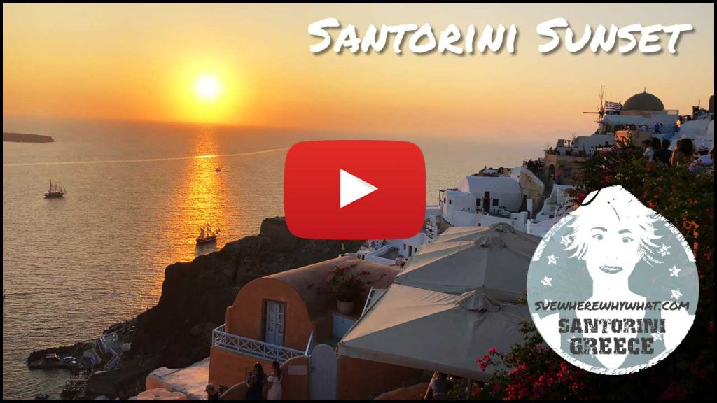 Santorini Sunset - Greece, Europe
