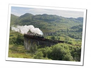 Harry Potter Train Glen Finannan Viaduct, Best Things to do in Fort William, Scotland