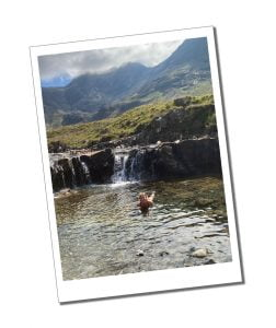 SWWW Wild Swimming, Fairy Pools, Isle of Skye