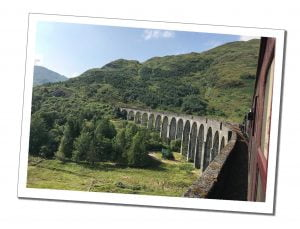 Viaduct View from Train - Everything You Need to Know to Ride & Photograph the Hogwarts Train, Scotland