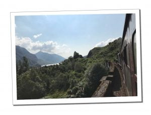 View from Train - Everything You Need to Know to Ride & Photograph the Hogwarts Train, Scotland