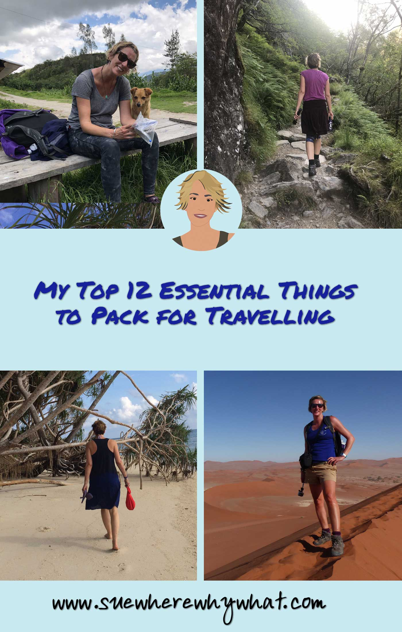 My Top 12 Essential Things to Pack for Travelling