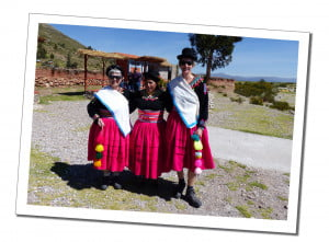 Homestay traditional costume. An Amazing 2 Day Homestay in Lake Titicaca Uros Reed Island People Taquiles Island