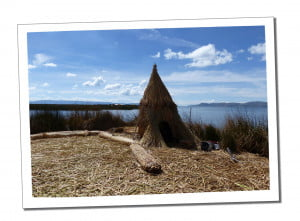 Uros-Reed-Island-hut-An-Amazing-2-Day-Homestay-in-Lake-Titicaca