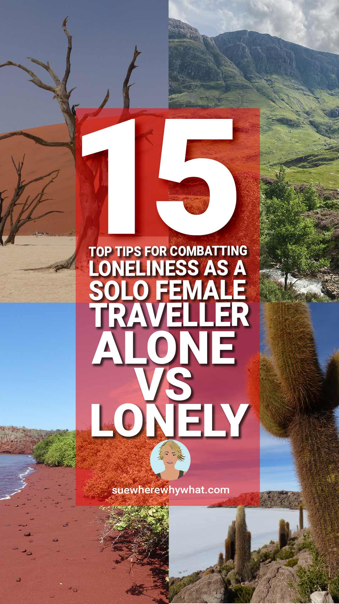Alone vs Lonely – 15 Top Tips for Combatting Loneliness as a Solo Female Traveller